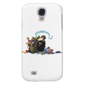 santa-claus-clip-art-4 galaxy s4 case