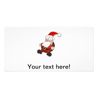 Santa Claus clipart Customized Photo Card