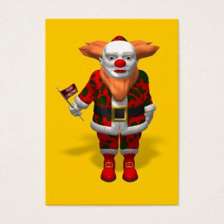 Santa Claus Clown Business Card