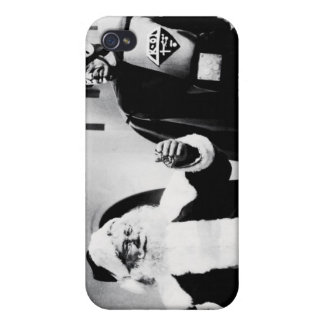 """Santa Claus Conquers"" Lobby Card #1 iPhone Case Covers For iPhone 4"