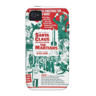 Santa Claus Conquers the Martians iPhone 4 Covers