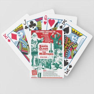 Santa Claus Conquers the Martians Poker Deck