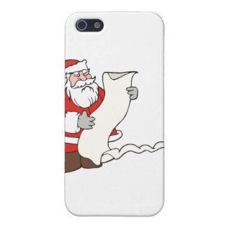Santa Claus Cover For iPhone SE/5/5s