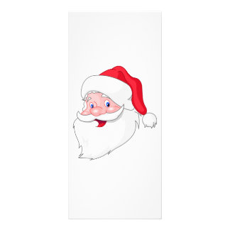 Santa Claus Custom Rack Card