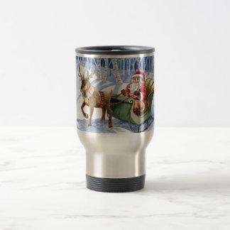 Santa Claus Customizeable Travel Mug