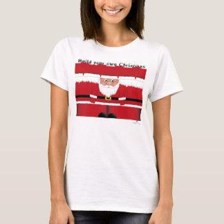 Santa Claus cutout T-Shirt
