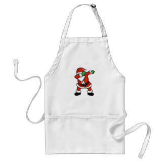Santa Claus dab dance christmas T-shirt Adult Apron
