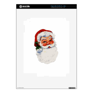 Santa Claus Decal For iPad 2
