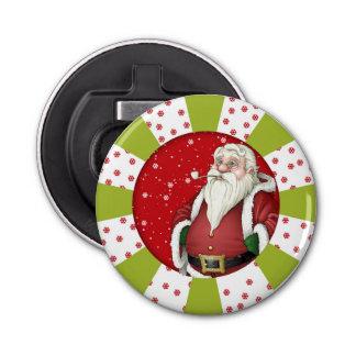 Santa Claus Deisigner Christmas Bottle Opener
