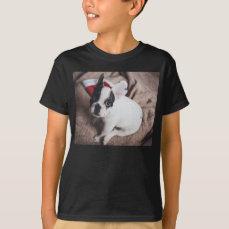 Santa claus dog -funny pug - dog claus T-Shirt