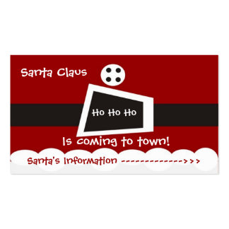 Santa Claus Double-Sided Standard Business Cards (Pack Of 100)