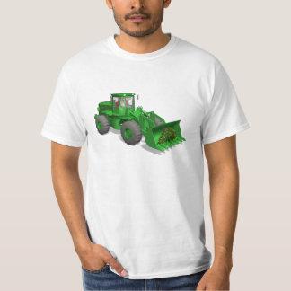 Santa Claus Dozer Man T-Shirt