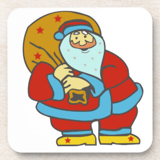 Santa Claus Drink Coaster