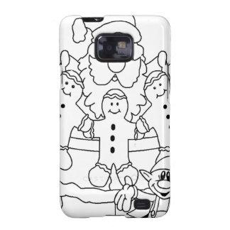 Santa Claus & Elf Samsung Galaxy SII Cases