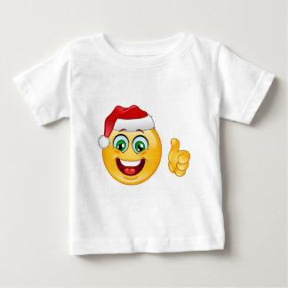 santa claus emoji baby T-Shirt