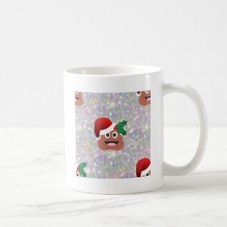 santa claus emoji coffee mug