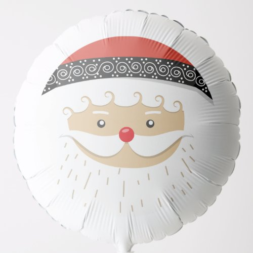 Santa Claus Face Balloon