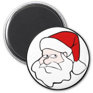 Santa Claus Face Fridge Magnet