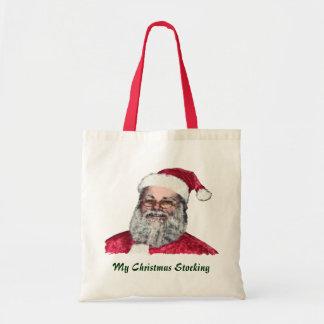 Santa Claus, Father Christmas Funny Tote Bag!