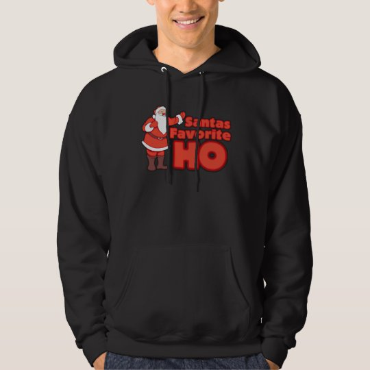 Santa Claus Favorite HO Hoodie