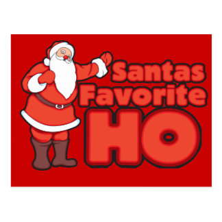 Santa Claus Favorite HO Postcard