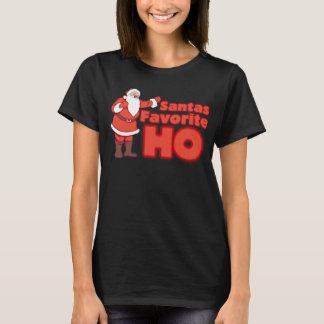 Santa Claus Favorite HO T-Shirt