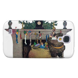 Santa Claus Filling The Stockings Samsung Galaxy S4 Case