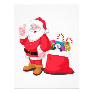 Santa Claus Full Color Flyer