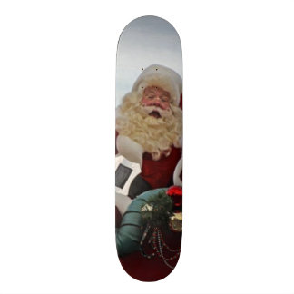 Santa Claus for Christmas Skateboard