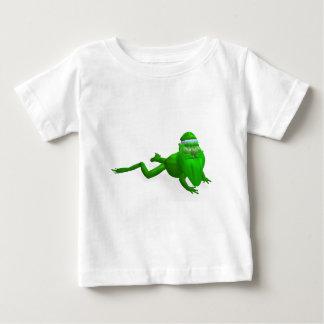 Santa Claus Frog Baby T-Shirt