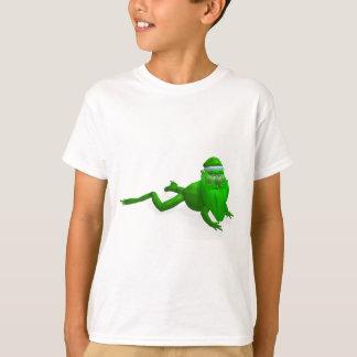 Santa Claus Frog T-Shirt