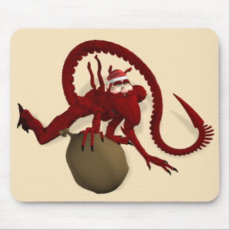 Santa Claus From Outer Space Mouse Pad