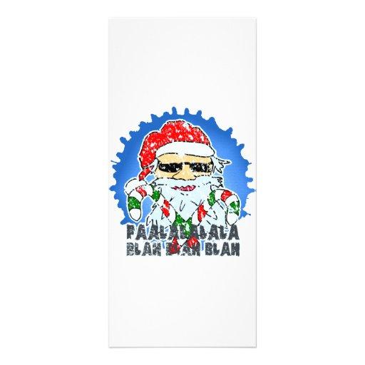 Santa Claus Full Color Rack Card