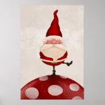 Santa Claus fungus Posters