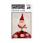 Santa Claus fungus Stamp