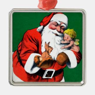 Santa Claus Funnies - Cherub Christmas Ornaments