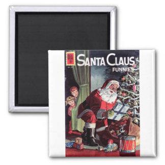 Santa Claus Funnies Magnet