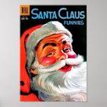 Santa Claus Funnies – Portrait Poster