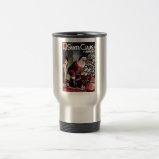 Santa Claus Funnies Travel Mug