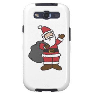 Santa Claus Galaxy S3 Cases