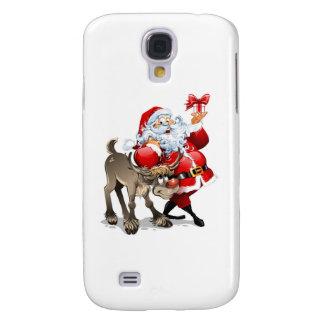 Santa Claus Galaxy S4 Cases