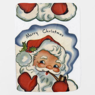 santa claus,genuine,vintage,reproduction,merry xma swaddle blankets