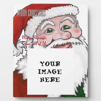 Santa Claus Gift Plaque