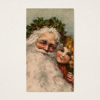 """""""Santa Claus"""" Gift Tag"""