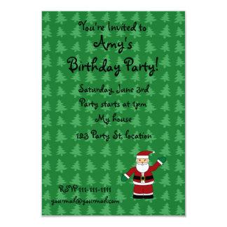 "Santa claus gifts 3.5"" x 5"" invitation card"