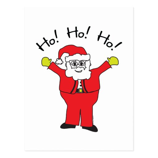Santa Claus Gifts Postcard