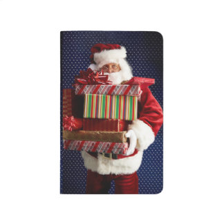 Santa Claus Gifts Presents Christmas Wish Holiday Journal