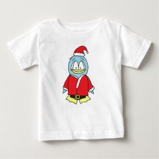 Santa Claus Gito the Penguin Baby T-Shirt