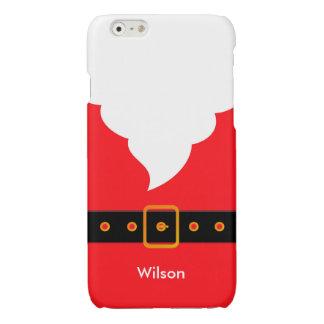 Santa Claus Glossy iPhone 6 Case