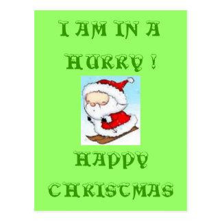 "SANTA CLAUS ""HAPPY CHRISTMAS"" POSTCARD"